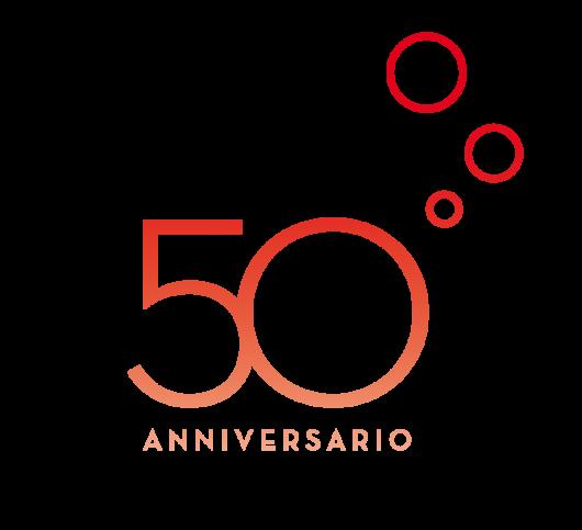 Marchio celebrativo cinquantesimo anniversario Sanbitter