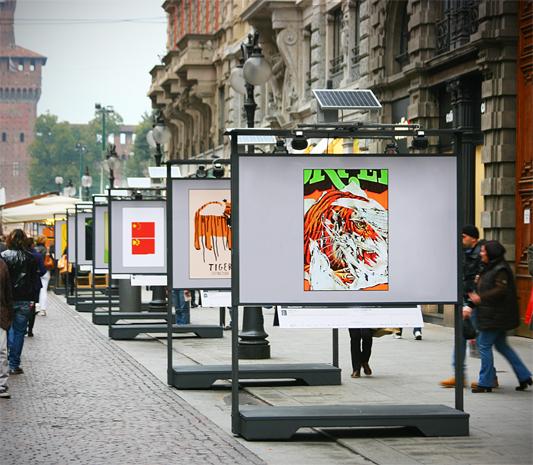 milano viale dante exhibition