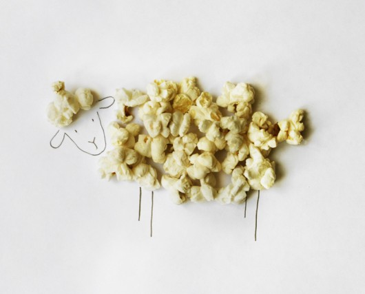 pop, corn, ready made, duchamp, visual, similarity, margherita micheli, gianluca camillini