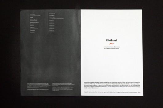 """Borders"" ""Karel Martens"" ""Isia Urbino"" ""Flatland"" ""Dimensions"" ""Editorial"" ""Limit"""