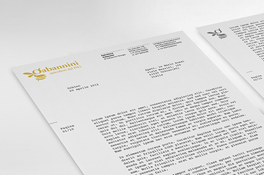 gabannini letterhead honey