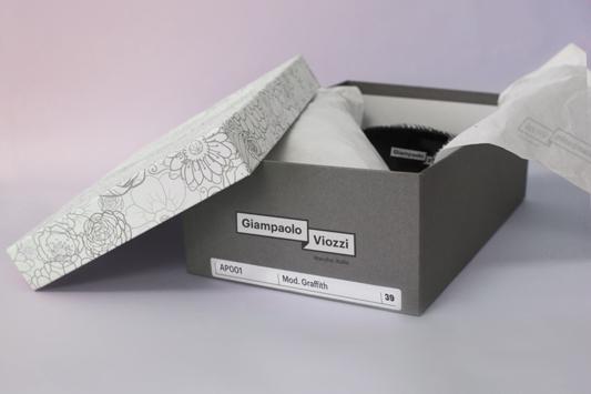 Viozzi scarpe made in italy mister gatto visual design