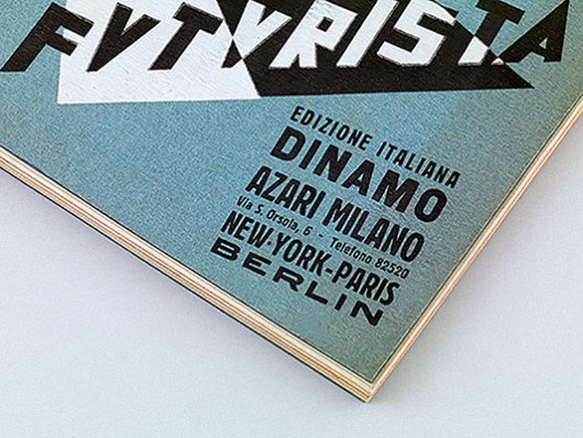 Depero Gianluca Camillini bolted book